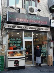 eyüp güveci, eyüp sultan güveççisi, tarihi eyüp sultan güveççisi