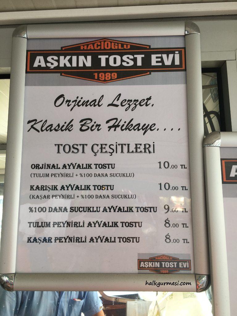 Hacıoğlu Aşkın Tost Evi